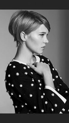 Lea Seydoux. I'm NOT going to start a HAIR board.