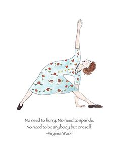 Virginia Woolf, Virginia Woolf card, Virginia Woolf greeting card, Virginia Woolf quote, Virginia Woolf note card, yoga blank card, by ZinniaAwakens on Etsy
