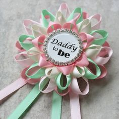 Mommy to Be Daddy to Be Baby Shower by PetalPerceptions on Etsy