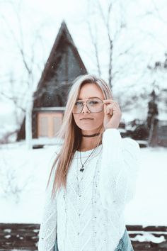 brady square metal clear glasses for women