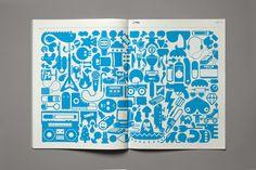 Linotype Brochure HVD Fonts by HVD Fonts, via Behance