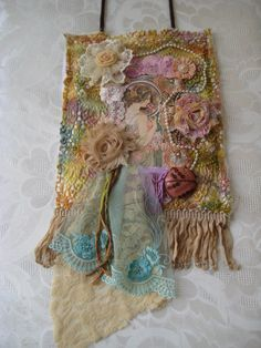 Tattered lace collage wall hanging by KillarneyFields on Etsy480 x 640102.3KBwww.etsy.com