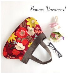 お花柄が可愛いグラニートートバッグ