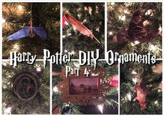 Potter Frenchy Party - Une fête chez Harry Potter: Un Noël Harry Potter : décorations DIY pour le sapin des sorciers