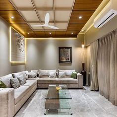Image may contain: indoor Drawing Room Ceiling Design, Drawing Room Interior, House Ceiling Design, Ceiling Design Living Room, False Ceiling Living Room, Bedroom False Ceiling Design, Bedroom Bed Design, Bedroom Furniture Design, Wooden Ceiling Design