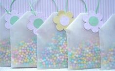 Sobrecitos con dulces para fiestas