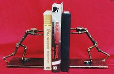 Bookends, by J. E. Velazco Castillo by MillerWelds.com, via Flickr