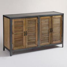 World Market -- Double Shutter Sideboard