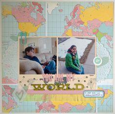 You Are My World - Scrapbook.com