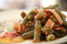 The BEST BBQ Green Beans for your Memorial Day Menu