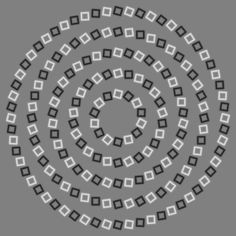 Scientists explain a notorious optical illusion that confuses the brain into thinking circles are spirals.