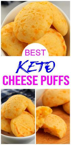 5 Ingredient Keto Cheese Puffs – BEST Low Carb Keto Cheese Puff Recipe – Easy – Gluten Free – Snacks – Appetizers – Side Dish Check out these 5 Ingredient Keto Cheese Puffs! Cheese Puffs are so tasty. Cheese Puffs, Keto Cheese, Low Carb Recipes, Healthy Recipes, Healthy Food, Eating Healthy, Healthy Gluten Free Snacks, Recipes For Lunch, Quick Recipes