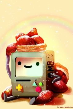 Find images and videos about strawberry, adventure time and adventure time on We Heart It - the app to get lost in what you love. Cartoon Adventure Time, Adventure Time Anime, Cartoon Network, Abenteuerzeit Mit Finn Und Jake, Adveture Time, Land Of Ooo, Wallpaper Animes, Finn The Human, Jake The Dogs