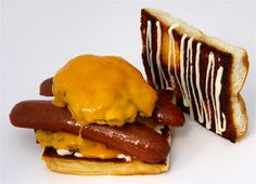 Big Ern McCracken - Dog Haus Burger Burger Places, Rest, Fun Food, Good Food, Hot Dogs, Big, Hamburger, Sausage, Food Porn