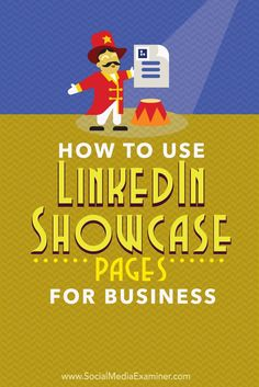 LinkedIn showcase pages enable you to promote certain products or services to specific customer segments.  In this article youll discover how to use LinkedIn showcase pages for your business.