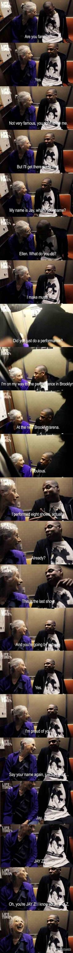 Jay Z being awesome