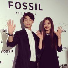 Kang Min Hyuk and Nana - Fossil Event