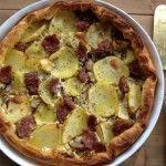 Sfoglia con champignon cotechino e patate