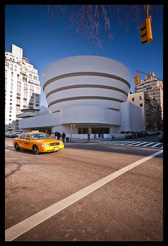 Solomon R. Guggenheim Museum, NYC. 1959. Frank Lloyd Wright