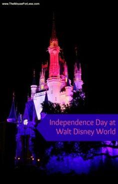 walt disney world july 4th 2013