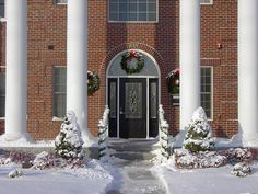 Chi Omega at Emporia State during Christmas