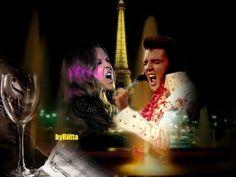 Elvis and Lisa-Marie creation byRiitta