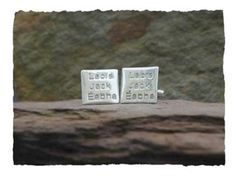 Have a set of elegant cufflinks with all the names of your loved one's that are extra special  http://www.silverhavenjewellery.com/names-cufflinks/