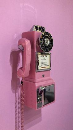 Pink aesthetic, relationship tips, vintage pink, landline phone, wallpapers Boujee Aesthetic, Bad Girl Aesthetic, Aesthetic Images, Aesthetic Backgrounds, Aesthetic Iphone Wallpaper, Aesthetic Photo, Aesthetic Wallpapers, Photo Wall Collage, Picture Wall