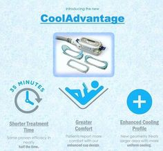 If you can squeeze it, we can freeze it! Introducing the new cooladvantage hand piece that freezes away unwanted fat in half the time! Call 514-937-2757 to meet Dr. Munk and find out if you are a candidate for this world renowned fat freezing treatment