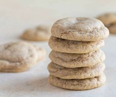 Melt in your mouth Chai Cookies are full of cozy winter flavors! They are so soft and pillowy with the best combination of cozy spices.