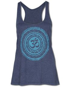 Soul Flower - NEW! Om Yoga Tank - $28.00