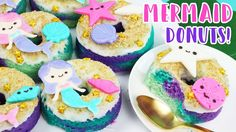 How to Make Mermaid Donuts!