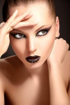 Avant garde make-up is my favorite really. Stage and artistic looks... Abstract art...