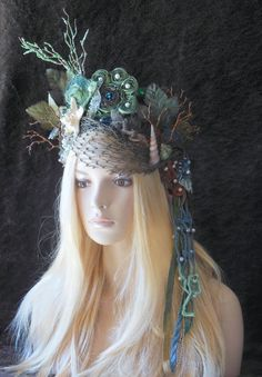 MADE TO ORDER Magical Whimsycal Fantasy Fairy by MIMSYCROWNS $255