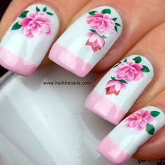 how about some chic Spring Nails Designs and Colors Ideas to make your spring way more stylish than it ever was? You will love these top manicure that Nail Art Designs, Flower Nail Designs, Flower Nail Art, Nail Designs Spring, Nail Polish Designs, Gorgeous Nails, Pretty Nails, Fun Nails, Amazing Nails