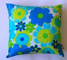 PLONKA  retro pillowcase no 4 by dalinda on Etsy, $26.00