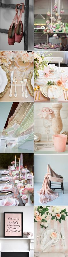 Beautiful inspiration for a ballet theme wedding. Find here everything - pointe shoes, tulle, hair inspiration, wedding cakes, and more...