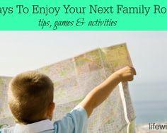 20+ Ways To Enjoy Your Next Family Road Trip #familytravel