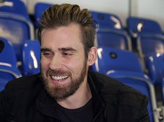 "Hockey star Henrik Zetterberg talks floorball: ""I think Sweden will win the gold"" Kristian, Hockey Stuff, Detroit Red Wings, Sweden, Honda, Sports, Europe, Hs Sports, Excercise"