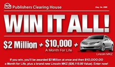 PCH Dream Life Prize 2014 It's Only a matter of Time that I will Win! Will be seeing you Prize Patrol. Instant Win Sweepstakes, Online Sweepstakes, New Ford Explorer, Win For Life, Winner Announcement, Publisher Clearing House, Congratulations To You, Winning Numbers, Cash Prize