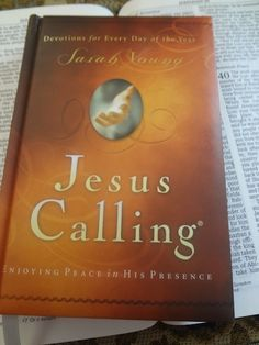 Jesus Calling by Sarah Young is a game-changing devotional book