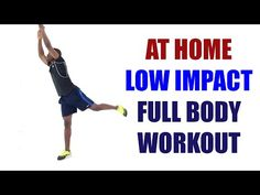 20 Minute At Home Low Impact Full Body Workout for Weight Loss - YouTube Best Home Workout Program, 4 Week Workout, Post Workout Shake, Hiit Program, 30 Minute Workout, Workout Programs, Weight Training Workouts, Easy Workouts, At Home Workouts