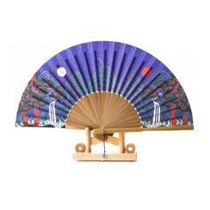 fan032a Royal Throne, Shop Fans, Heritage Foundation, Hand Fan, Landscape Paintings, Great Gifts, Arts And Crafts, Korean, Fan Art