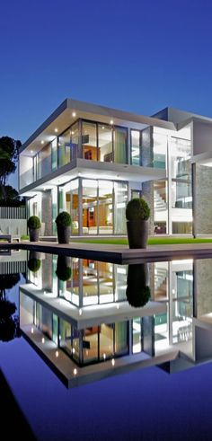 Not many people actually live in glass houses, it's easy to throw stones when you don't live in one... - pool