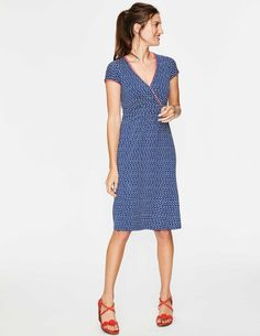 27cd8f12ce4 Casual Jersey Dress J0118 Day Dresses at Boden Wrap Dress