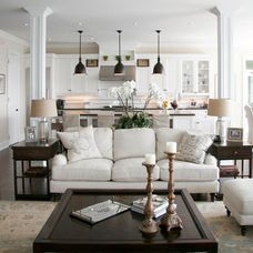 Traditional Living Room by Staples Design Group