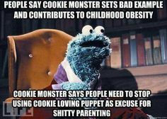 Cookie monster is the Most Interesting Man in the World. Sesame Street & The Muppets Kermit, I Smile, Make Me Smile, Just For Fun, Just In Case, Doug Funnie, Haha, Funny Quotes, Funny Memes