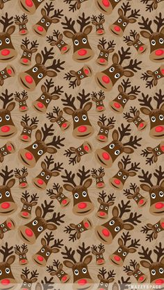reindeer wallpaper iphone - Google Search