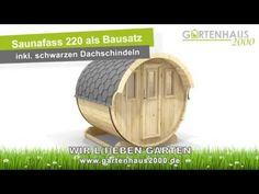 Saunafass Bausatz 220 von Wolff Finnhaus kaufen