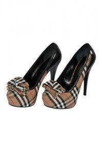 Burberry high heels